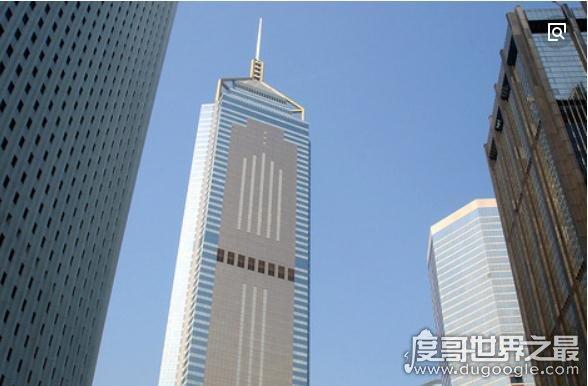 2018香港最高樓排名,香港環球貿易廣場(118層高484米)