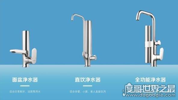 中國十大凈水器排名,十款節能又好用的優質凈水器