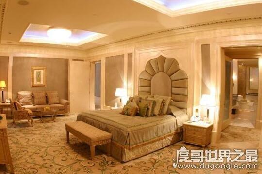 阿布扎比皇宫酒店,是世界上唯一的八星级酒店(超级奢华)