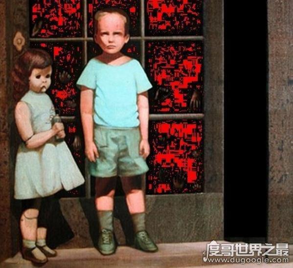 世界十大禁画,致上千人死亡(奥迪的世界)被咒诅的画像