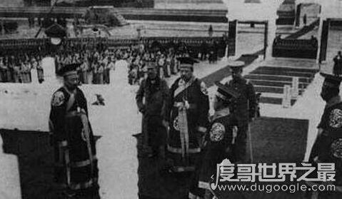 建国后自封皇帝的张清安,鼎盛时文武百官有七十多人
