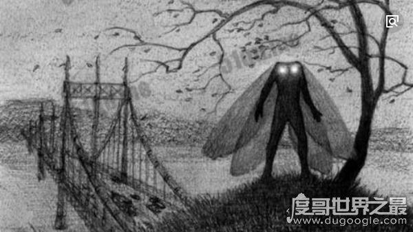 《天蛾人的预言》中的天蛾人真实存在,超过百人亲眼所见