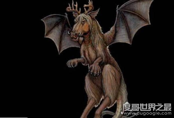 神秘生物之泽西恶魔,传说是蝙蝠和马的杂交品种(超怪异)