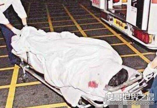 张国荣24楼跳下有多惨,面目全非骨肉全都被撞碎