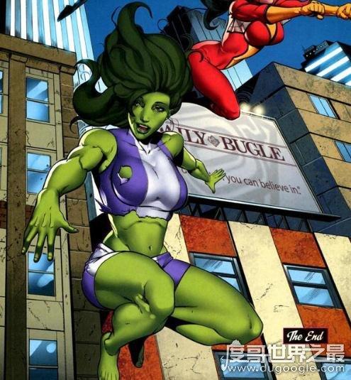 漫威超级英雄之女绿巨人,能够自由控制变身(已战死)