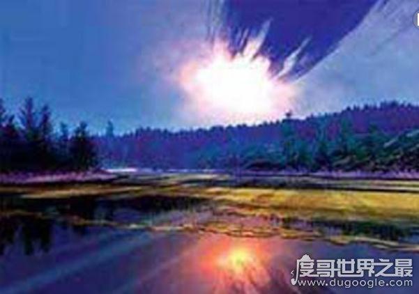 通古斯大爆炸之谜,威力相当于日本广岛1000枚原子弹