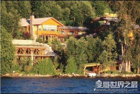 全球十大豪宅排行,比爾蓋茨豪宅排第9(第一價值60億)