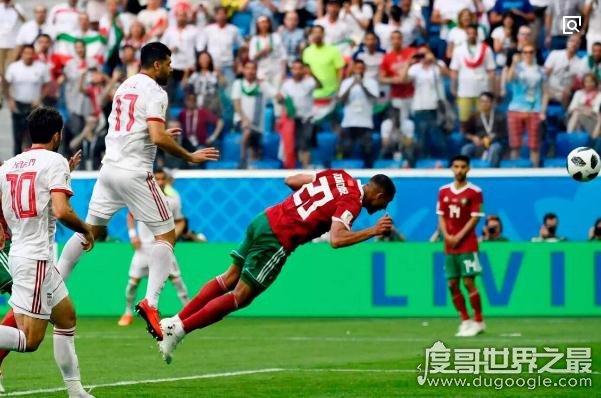 世界杯首个乌龙球来自摩洛哥,布哈杜兹关键时刻头球进自家门内