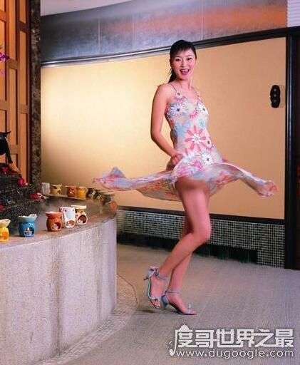 香港第一长腿小姐,万绮雯腿长140厘米(甄子丹前女友)