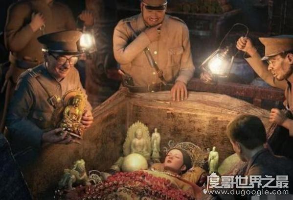 慈禧墓被盗历史真相震惊世人,慈溪惨遭盗墓贼毁容辱尸(超变态)