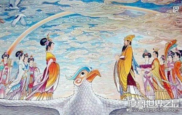 历史上最具神话色彩的皇帝,周穆王与西王母一段不美满的爱恋