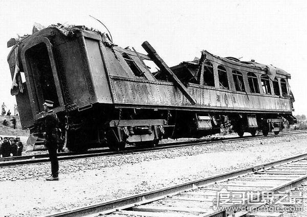 """1928年""""皇姑屯事件""""真相,张作霖乘火车在皇姑屯被炸(失血身亡)"""