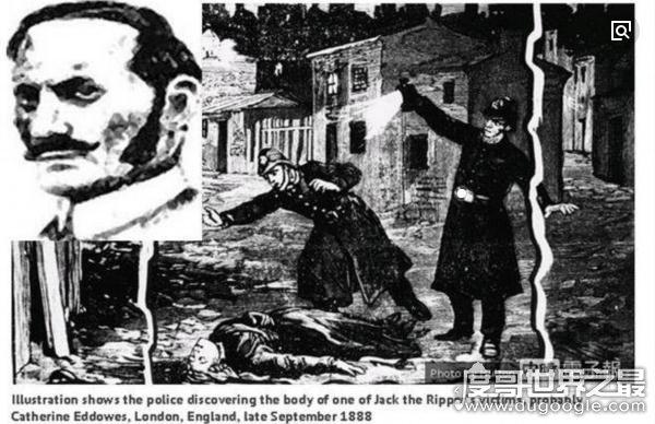 1888年伦敦连环杀人案凶犯,开膛手杰克至今人逍遥法外(专杀妓女)