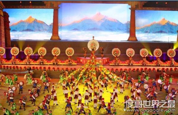 """最美""""康巴艺术节壮族友好使者""""姚艳燕,民族的才是世界的"""