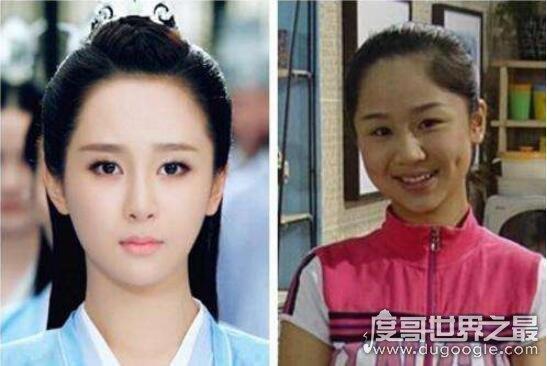 童星杨紫整容脸部大变样,实际是女大十八变瘦下来好看多了