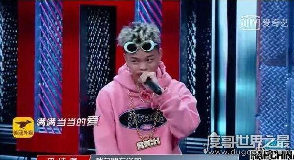 中国新说唱李佳隆复活,情歌王子的rap情话太洗脑(现场图片