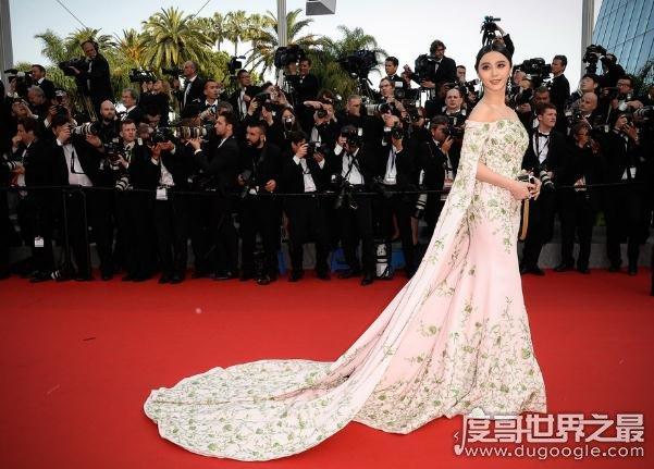 范冰冰女仆装惊艳,盘点范冰冰最惊艳的十大红毯亮相