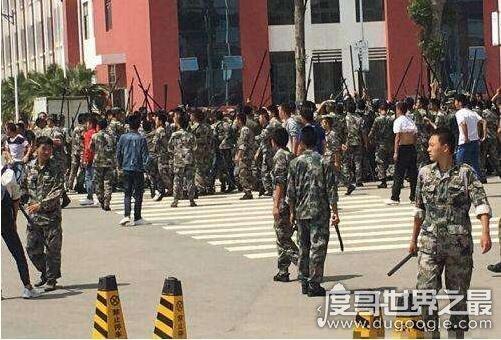 上海十大最乱学校介绍,集结全市最差学生进行打架斗殴