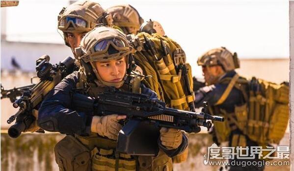 红海行动唯一女蛟龙蒋璐霞,扛枪射炮比男人还要man