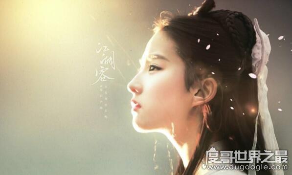通灵者看刘亦菲前世,竟然是天仙下凡难怪出身自带仙气