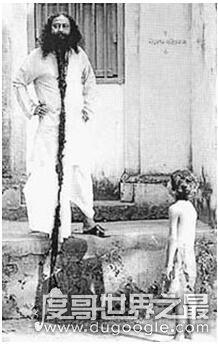 世界上胡子最长的人,最长5.22米(胡子最长的女人27.9厘米)(www.souid.com)