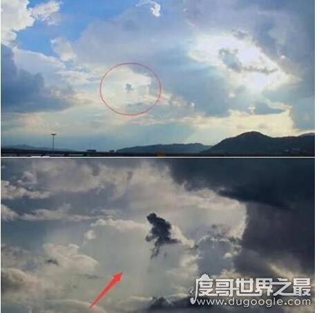 88年天空上出现孙悟空,奇特云彩异像引众人围观(非常神奇)