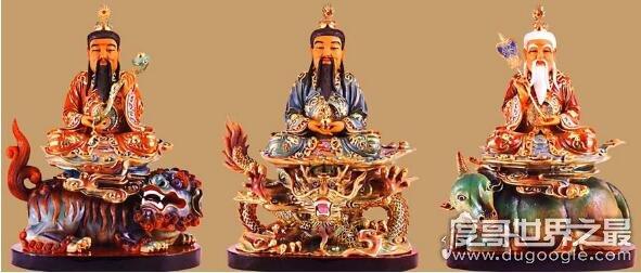 一尊二祖三清四御五老,地位最高的一群神仙造就了这个世界