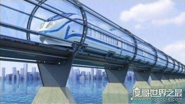 世界上最快的火车,高速飞行列车(最快时速达4000公里/小时)