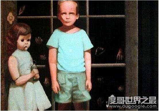 世界上最恐怖的八张画,一直盯着它看会让你精神错乱