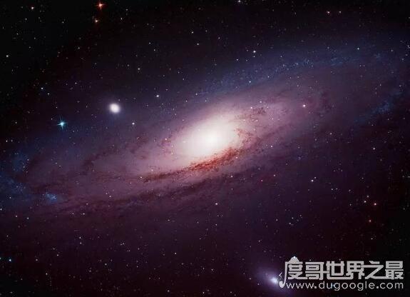 仙女星系和银河系谁大,仙女星系跨度更大但总质量较小