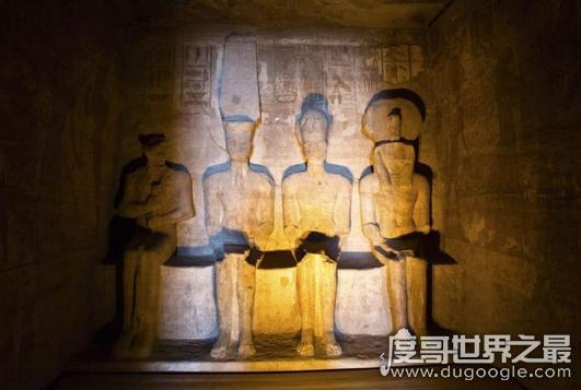 阿布辛贝神庙未解之谜,全年昏暗只有两天太阳会照耀在神像上
