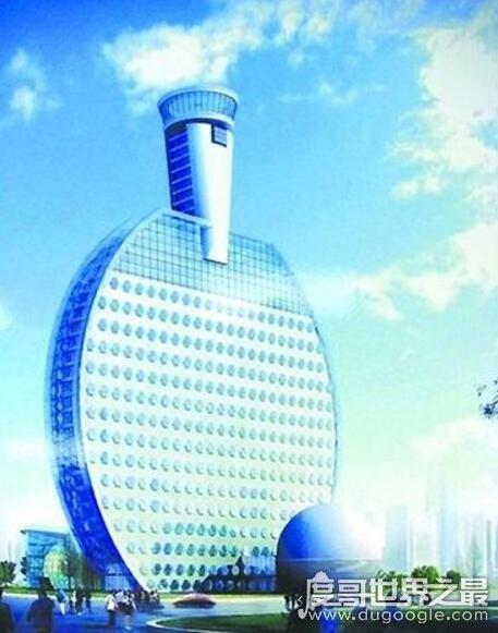 中国最雷人的建筑,乒乓球大厦(捍卫世界乒乓球霸主地位)