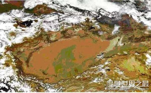 中国海拔最高的盆地,青海柴达木盆地(海拔2600米)