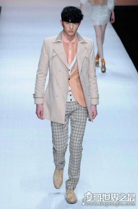 中国第二男模,金大川(Gucci秀场上的首位中国男模特)