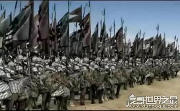 中国古代五大精锐部队,汉武帝虎贲军最厉害(3000vs15万)