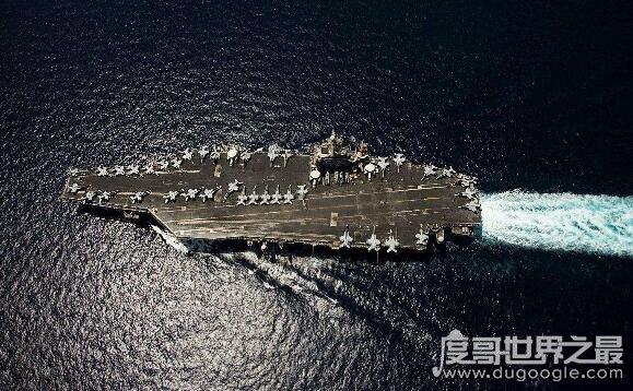 世界上最大的航母,长达337米的福特号航空母舰乃世界第一大