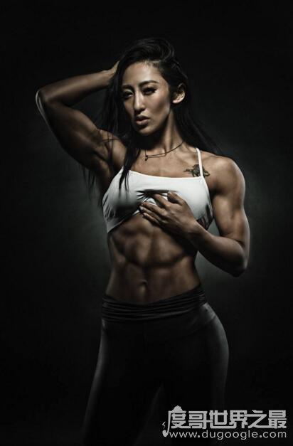 中国女子健美第一人,牟丛(私下健身美照欣赏)