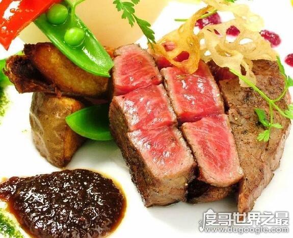 """世界上最贵的牛排,盘点十种非:贸缘?汗蠓欠驳呐E? src=""""https://image.dugoogle.com/uploads/allimg/181114/9_181114163058_1.jpg"""" /></p> <p>和牛西冷牛排含有一定的肥油,口感的韧度非常强,肉质比较有嚼头。特别是凉了之后,能明显的感到肉里面的油。一般售价169美元。</p> <h2>六、和牛神户牛排</h2> <p><img alt="""