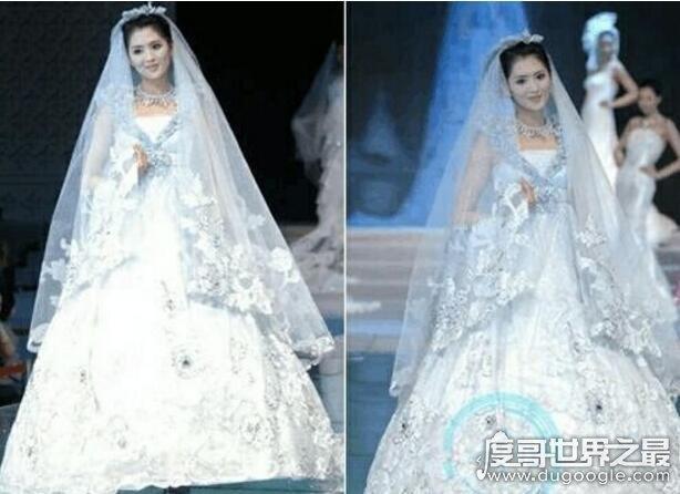 世界上最贵的婚纱,最贵的1200万美元(镶嵌150克钻石)
