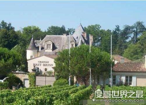 欧冠万博官网登陆酒庄排行榜,第一是拥有800多年历史的拉菲酒庄