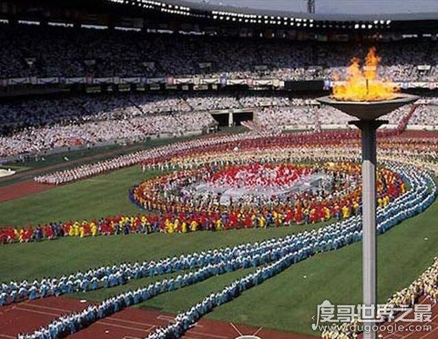 亚洲第一个举办奥运会的国家,64年第18届日本东京奥运