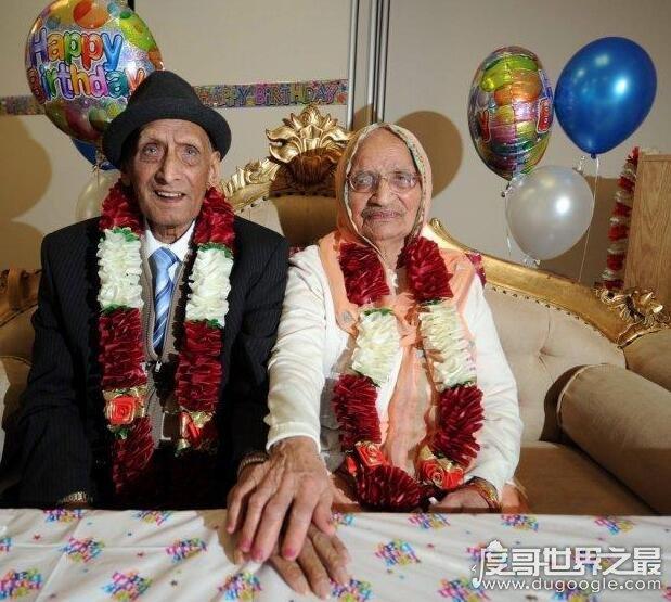 世界最长寿夫妇,最老夫妻213岁(目前吉尼斯纪录208岁)