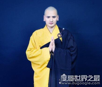 中国第一帅和尚,释明心法师(09年在永嘉县妙智寺剃度出家)