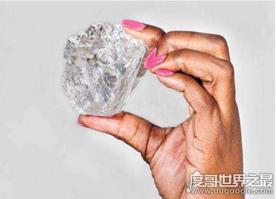 21世纪发现的最大钻石,莱索托诺言(603克拉/价值2000万美元)