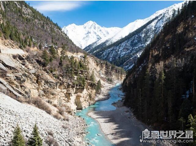 世界第一大峡谷,中国雅鲁藏布大峡谷(长504公里/深6009米)