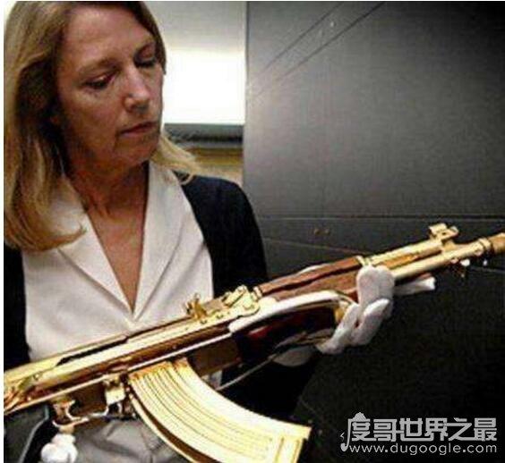 世界最昂貴的AK-47步槍,薩達姆黃金ak47無價(僅此一把)