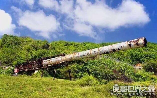世界上最大的大炮,巴巴多斯大炮(炮管36米/射程4000公里)