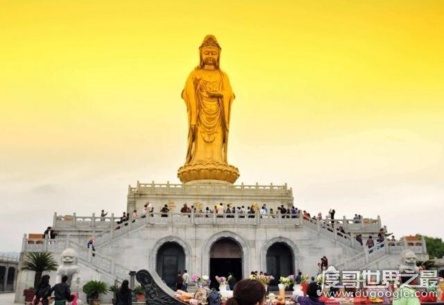 世界上最大的观音像,中国南海观音佛像(高108米/耗资8亿)