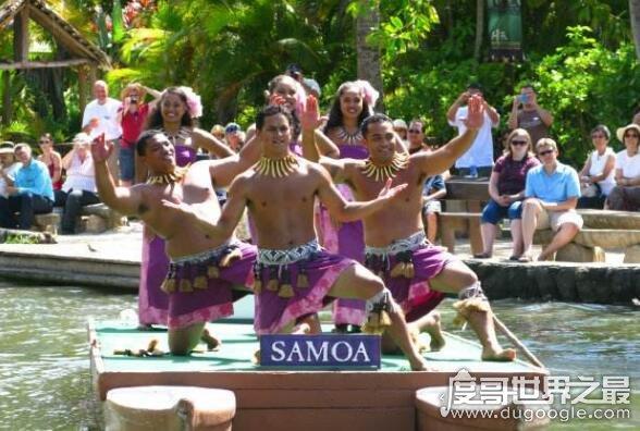 世界上最强壮的民族,萨摩亚人男性普遍高大健壮