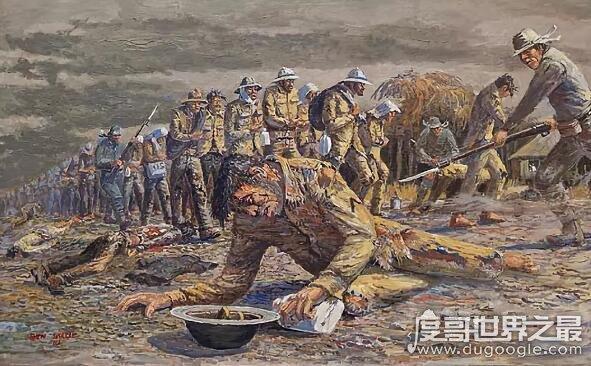 世界上最悲惨大行军,巴丹死亡行军(6天行军死了15000千人)